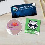 Stickers personalizados impresión imprenta labels
