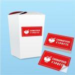 impresion de pegatinas stickers rectangular personalizado