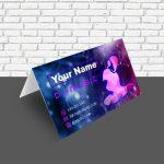 impresión tarjetas plegadas de visita