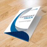 Impresión carpetas de presentación económicas USA